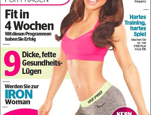 Kirsty seen in Inside Fitness Germany